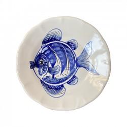 Assiette Poisson - Crustacé