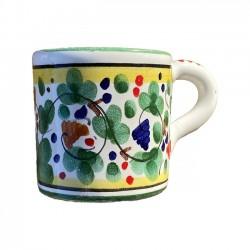 Tasse à Café Oiseau Fleurs...