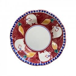 Assiette Pasta 25 cm Cochon...
