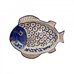 Grand Plat Poisson Bleu