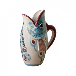 Carafe Turquoise Poisson