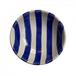 Bol 14 cm Rayure Bleu