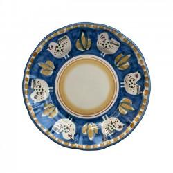 Grande Assiette Poule Bleue...