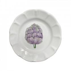 Assiette 16 cm Artichaut