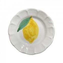 Assiette 16 cm Citron