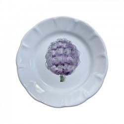 Assiette 20 cm Artichaut