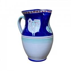 Grande Carafe Poule Bleue &...