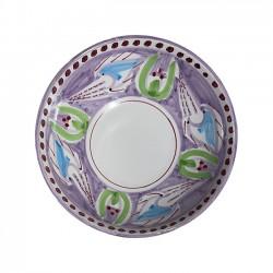Saladier 22 cm Seiche Violet