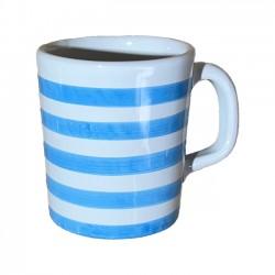 Mug Rayure Bleu Ciel
