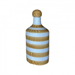 Bouteille Rayure Ocre