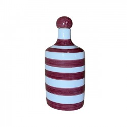 Bouteille Rayure Rouge