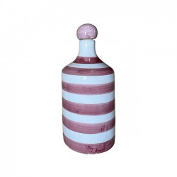 Bouteille Rayure Rose