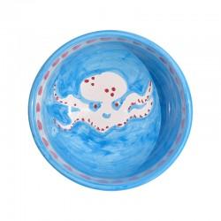 Bol Bleu Pieuvre