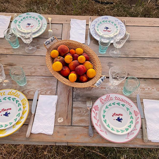 Amalfi Carafes & Bowls