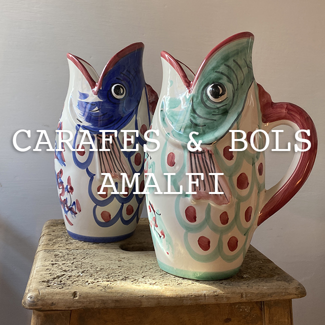 Carafes & Bols Amalfi