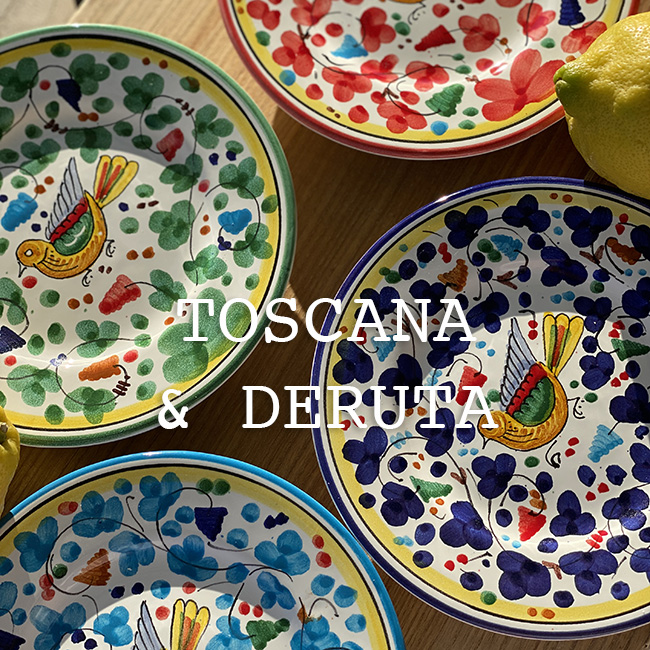 Toscana Plates & Mugs